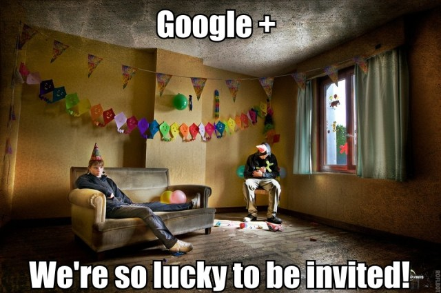 google plus - we are so lucky
