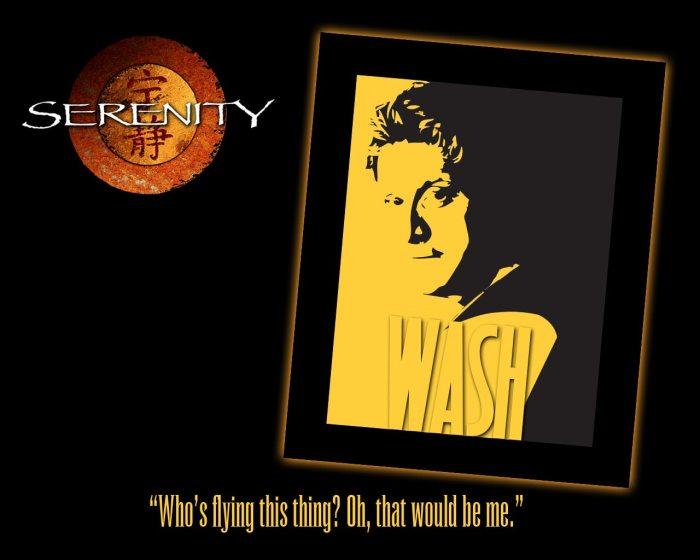 serenity - wash quote