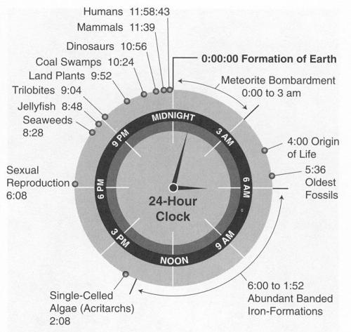 if life on earth were a clock