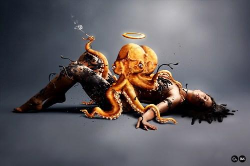 Angelic Octopus - Pekka Jauhiainen