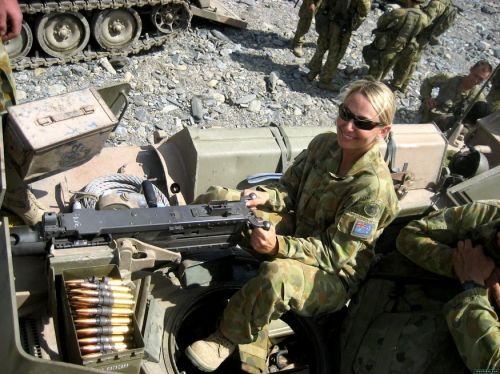 australian troop with m2