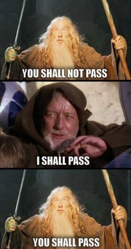 you shall pass