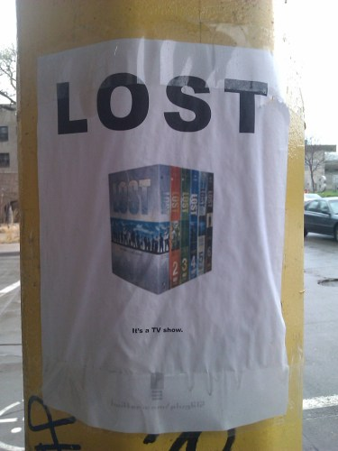 Lost - Its a tv show