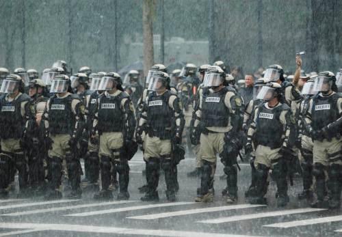Tampa Police republican convention 2012
