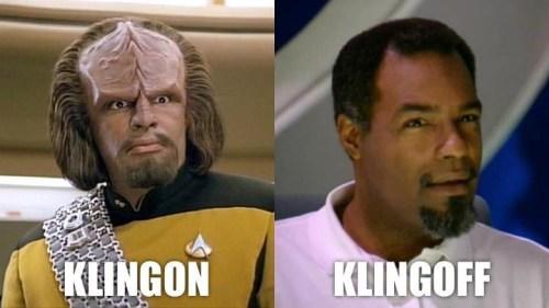 klingon vs klingofff