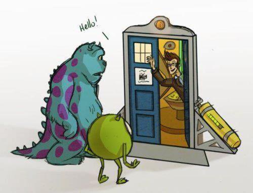 monsters meet the Doctor