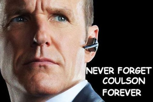 never forget coulson forever