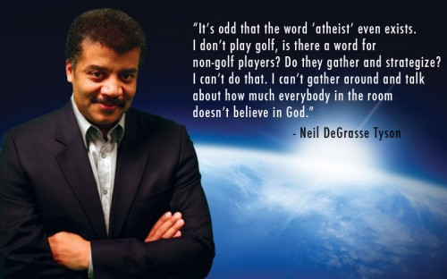 odd that the word atheist even exists