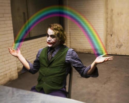 joker has rainbow