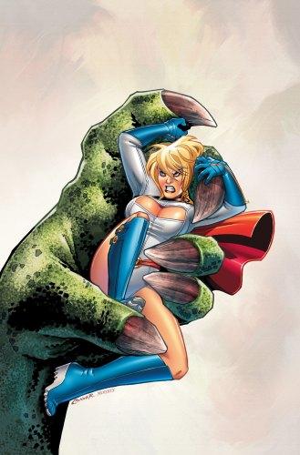 powergirl vs dinosaur