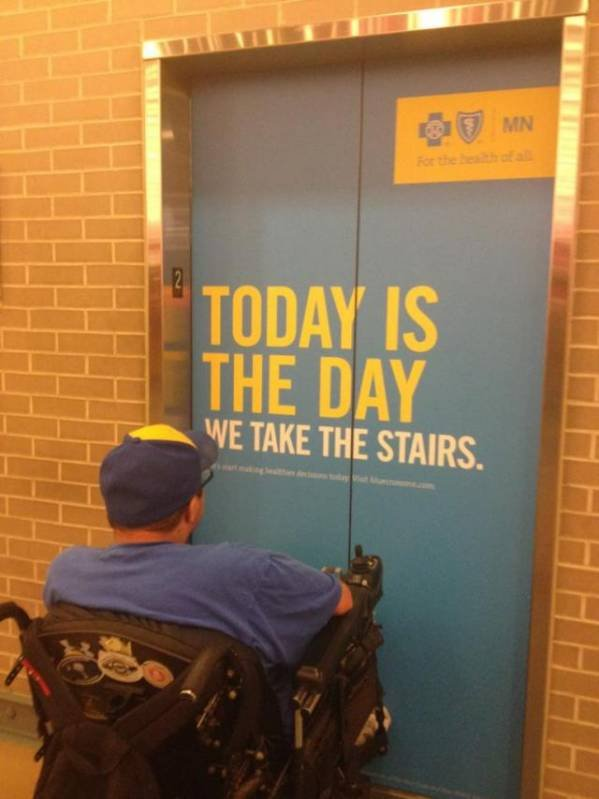 today is the day we take the stairs.jpg