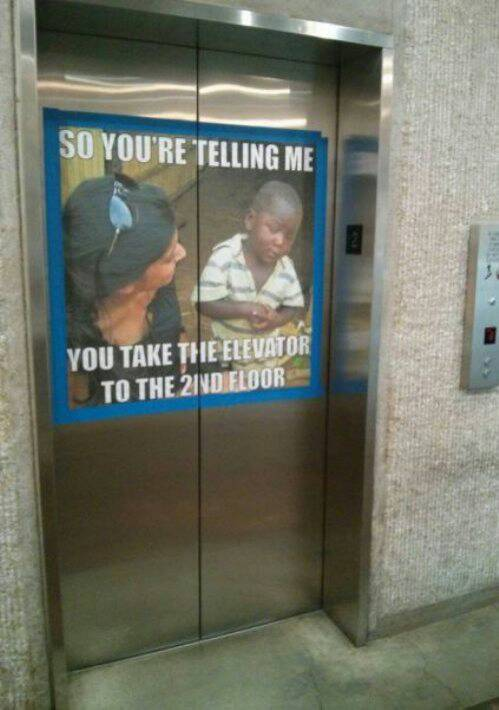 You take the elevator to the 2nd floor.jpg