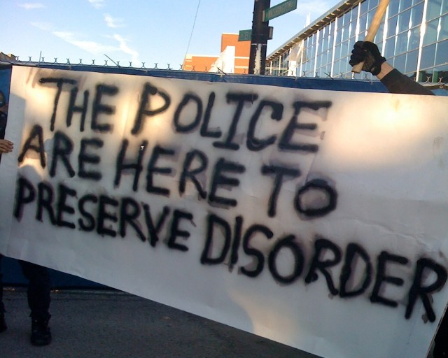 the police are here to preserve disorder.jpg