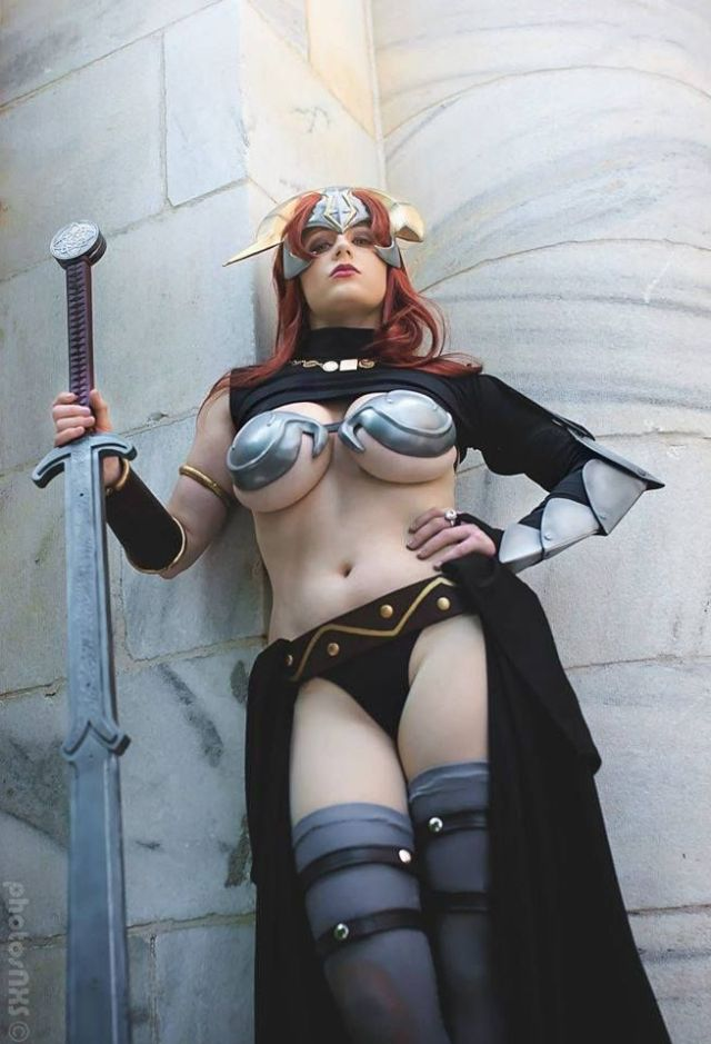 Claudett from Queen's Blade by Abby Dark-Star.jpg