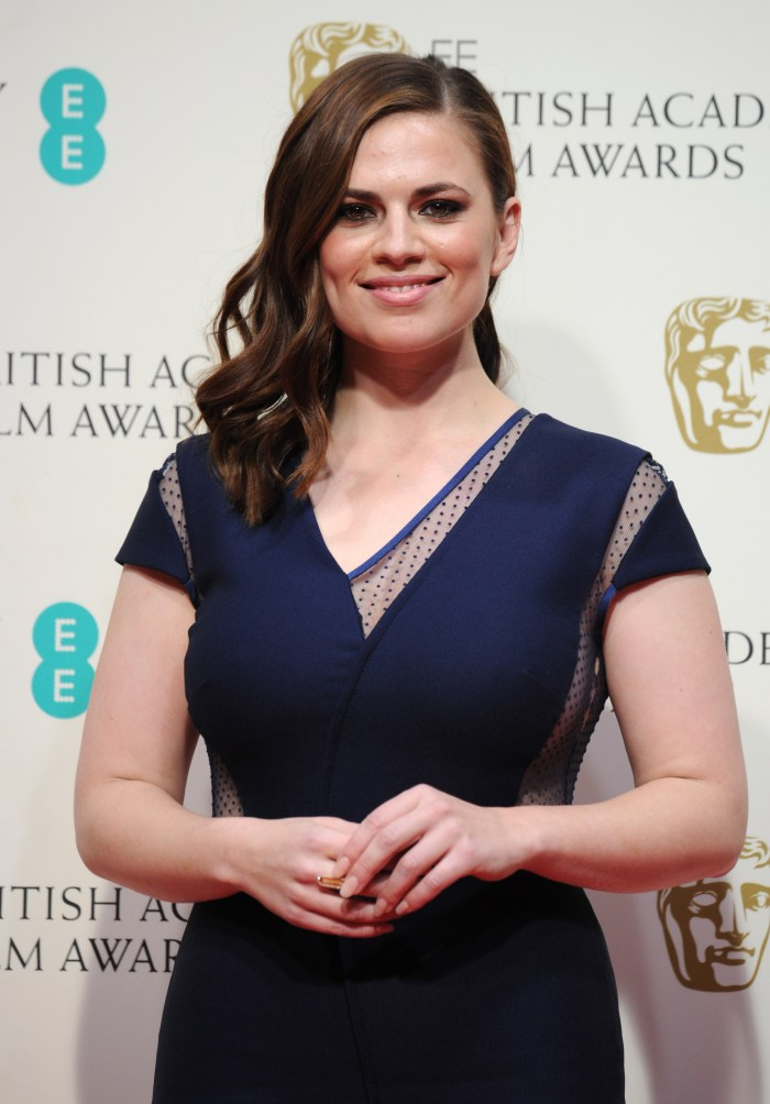 Hayley Atwell – EE British Academy Film Awards in London  (5)