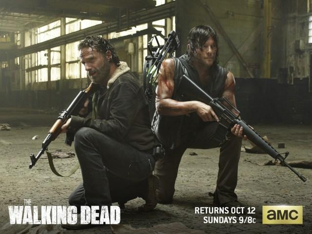 Walking Dead - Heroes with big damn guns.jpg