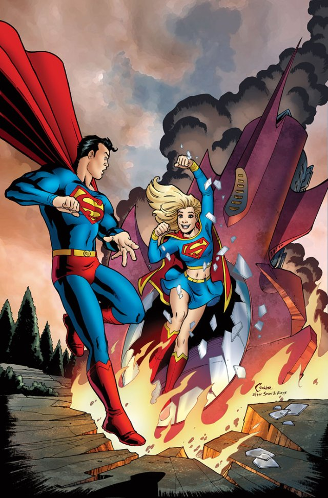 superman meeting supergirl for the first time.jpg