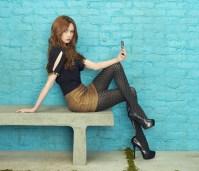Karen Gillian about to take a selfie.jpeg