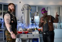Bebob and Rock Steady in the laboratory.jpg