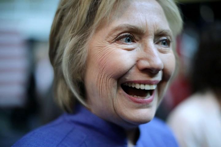Hillary Clinton is happy.jpg