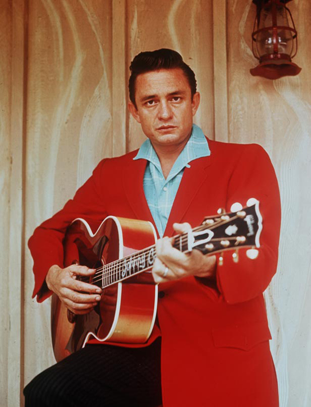 Personalities, 1970, American Country and Western singer Johnny Cash (Photo by Rolls Press/Popperfoto/Getty Images)