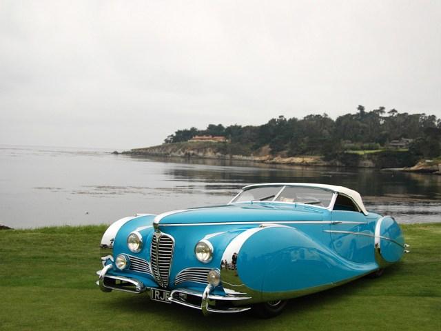 1949 Delahaye 175 S Saoutchik roadster in blue.jpg