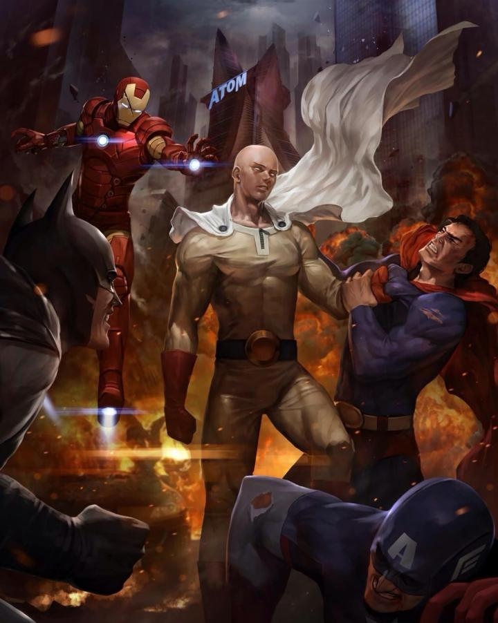 One Punch Man vs Marvel and DC.jpg