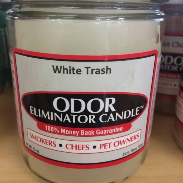 White Trash odor eliminator candle.jpg