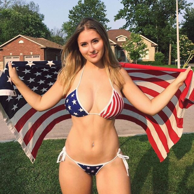 claire abbott with the american flag.jpg
