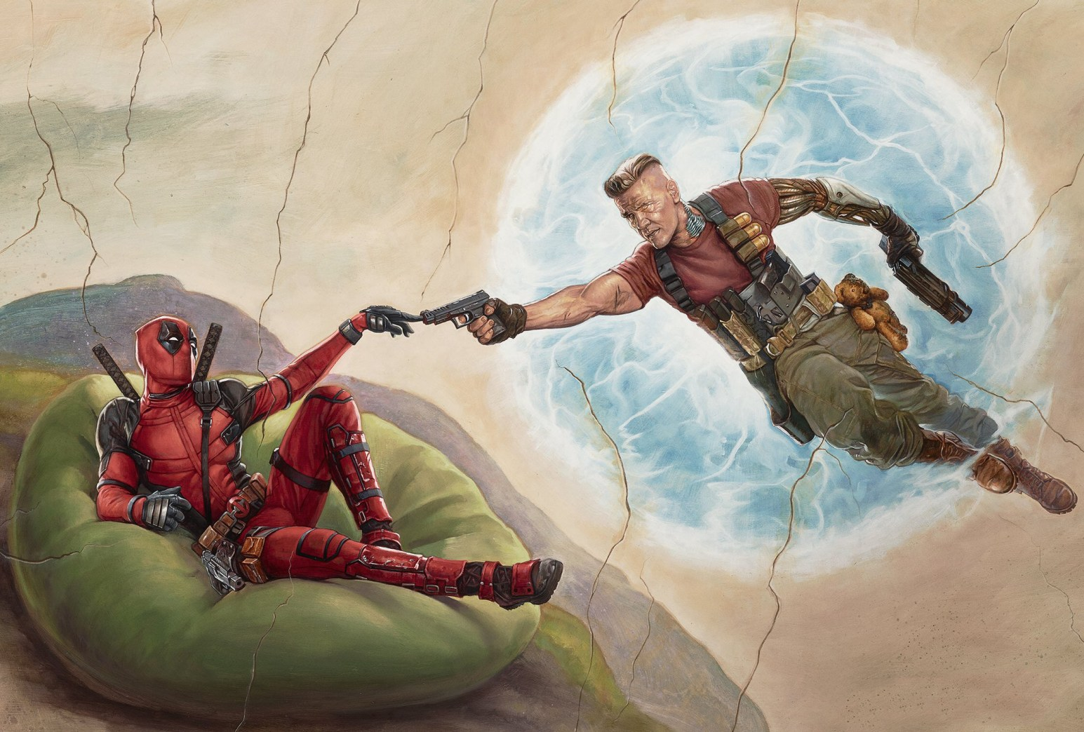 Deadpool Creation of Man