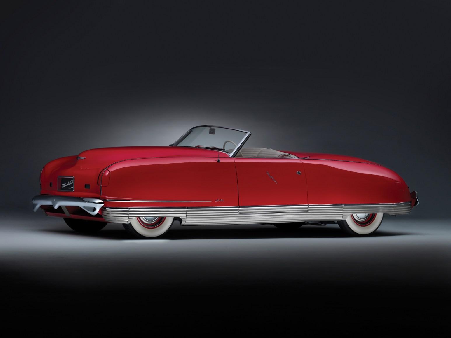 chrysler thunderbolt concept car 1940 uc