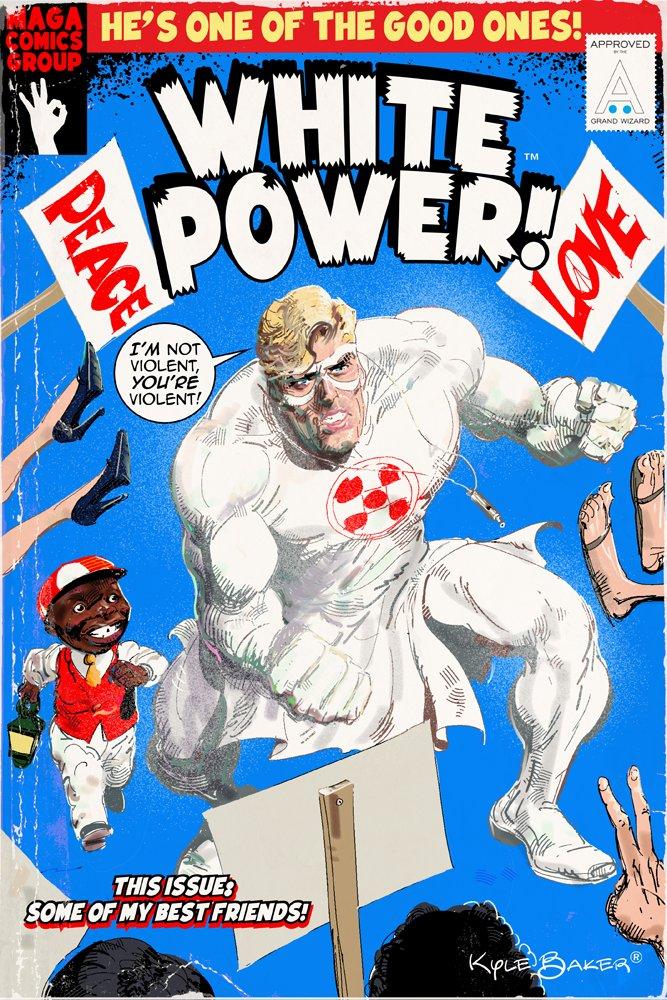 White Power Comics