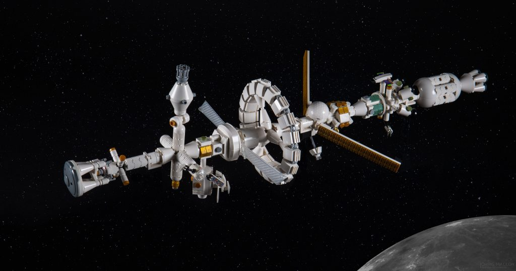 To the stars and beyond my microscale LEGO spacecraft inspired by NASA – part 1 The Brothers Brick
