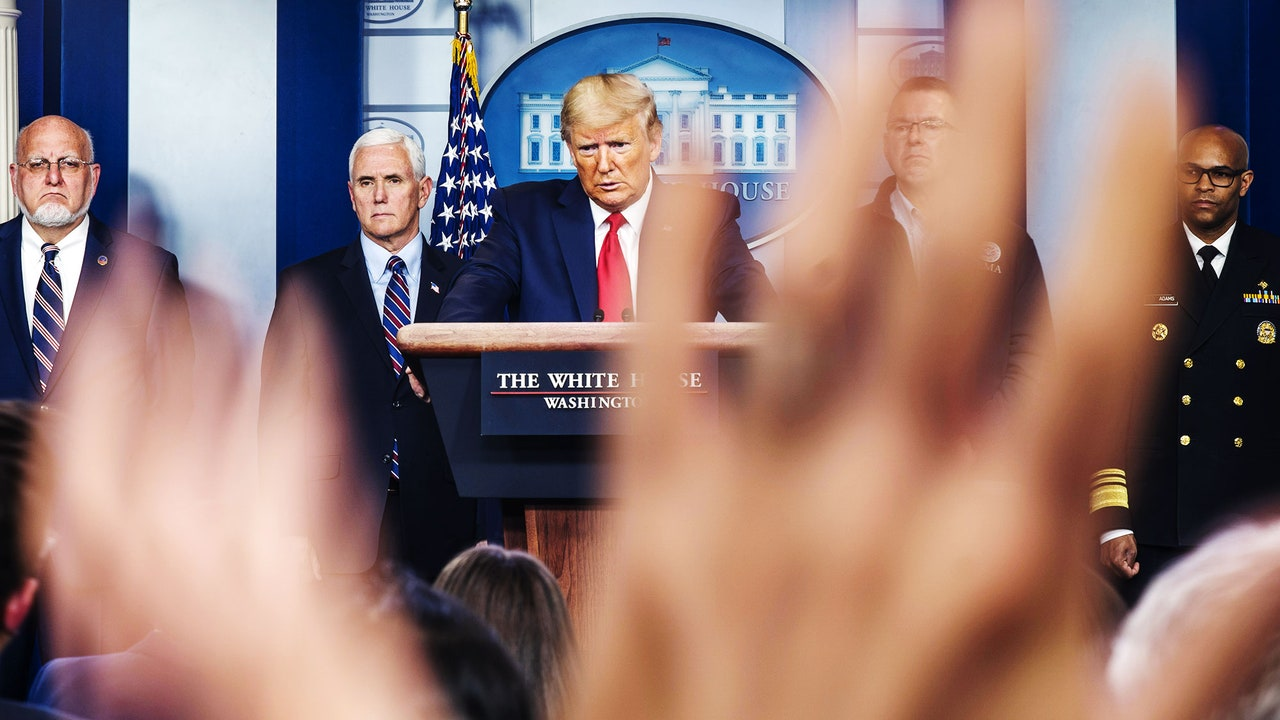 He Cant Make Any Big Decisions As the Crisis Escalates Trump Experiments With a Pivot