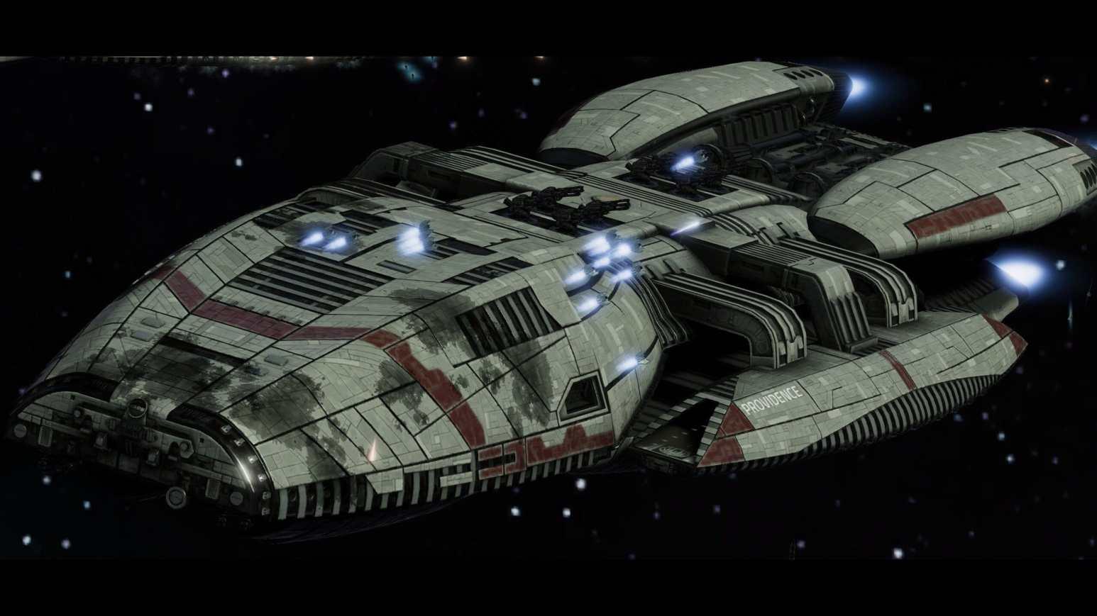 battle damaged battlestar