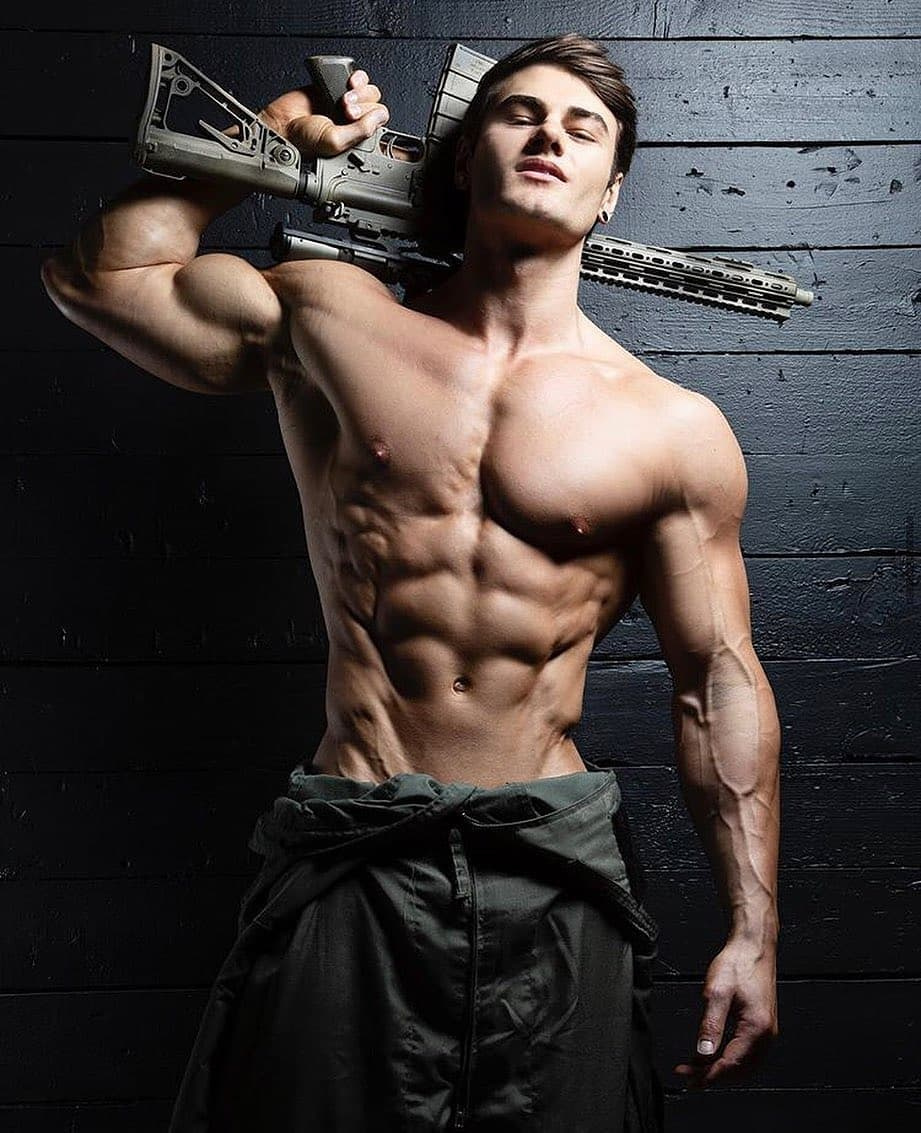 muscles and guns