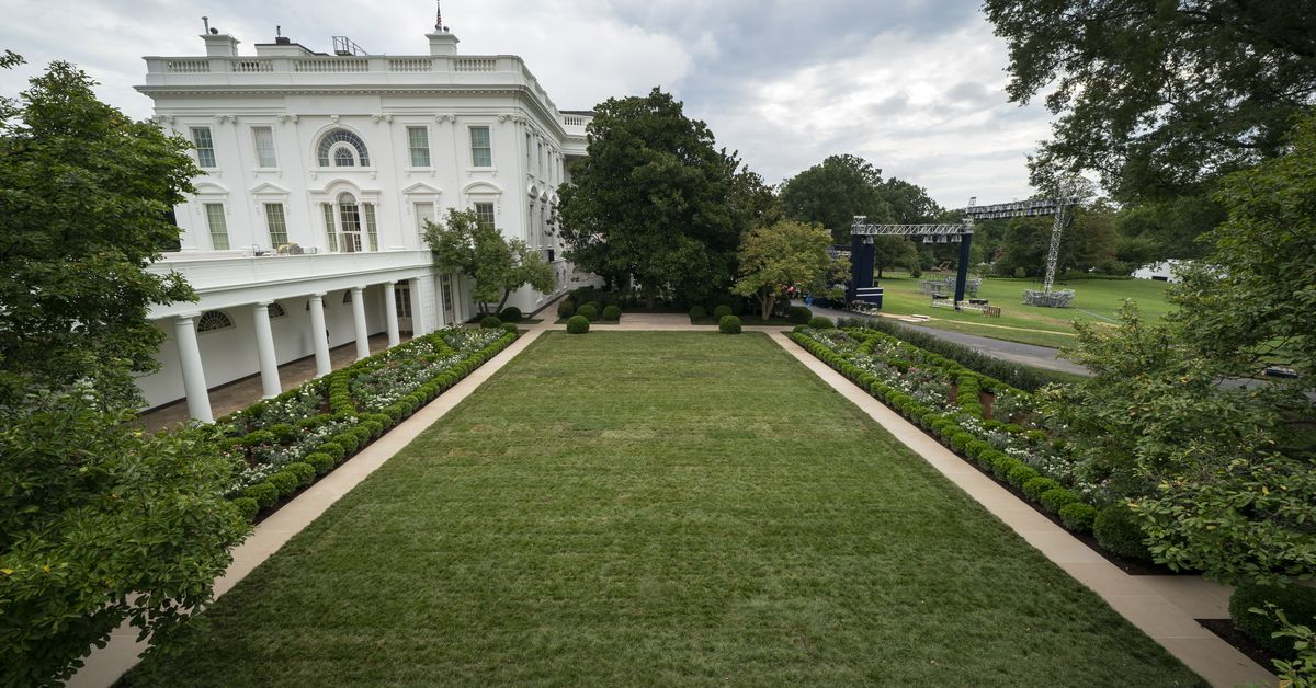 Melania Trumps changes to the White House Rose Garden explained