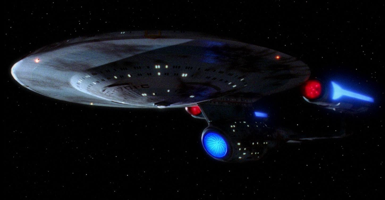 The USS Enterprise NCC1701-C