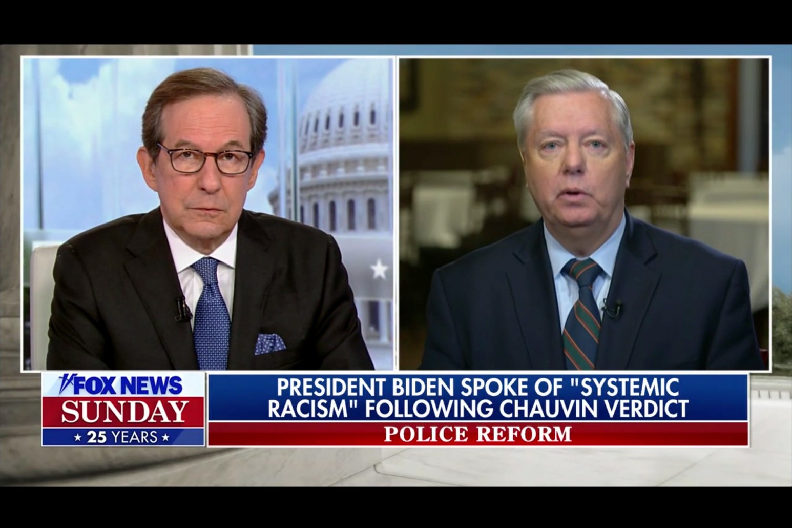 Lindsey Graham Denies the Reality of Systemic Racism Because Obama and Kamala Harris Were Elected