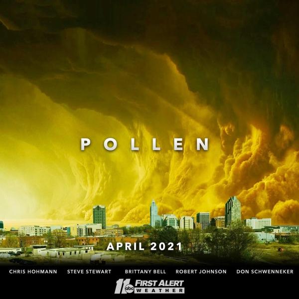 Pollen April 2021