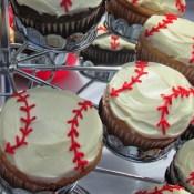 Baseball Cupcakes 2
