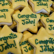 Graduation Star Cookies