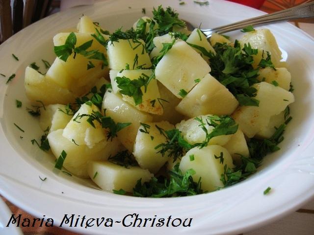 Картофи Соте или картофи с масло за гарнитура