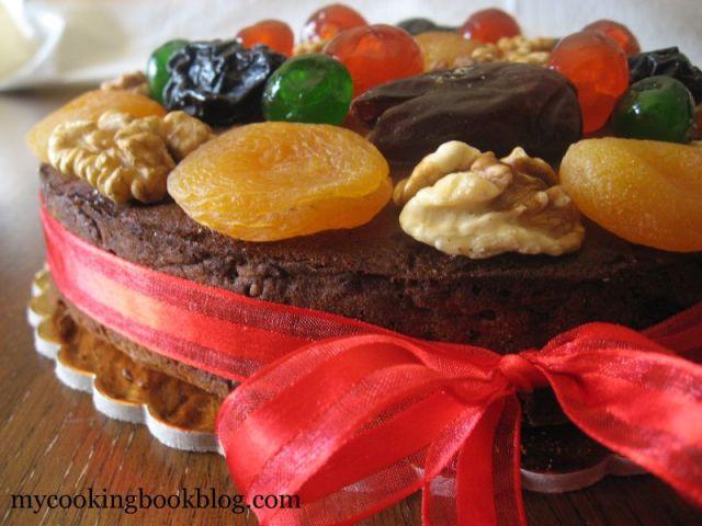 Коледният Кейк на Атинá - Το Χριστουγεννιάτικο κέικ της Αθηνά