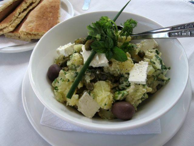 Гръцка Картофена Салата
