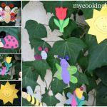 Апликация Бубулечки за Пролетна Декорация