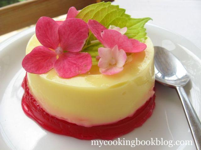 Кастърд крем (Custard Cream) с плодово желе