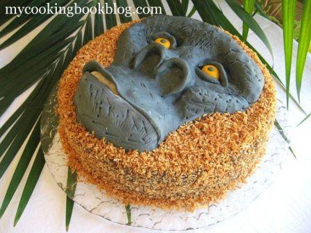 Торта Горила