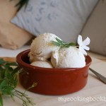 Сладолед със сусамов тахан