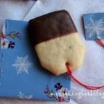 Чаени бисквити като пакетчета за чай